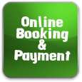 Green 'Go To Online Booking and Payment' Button